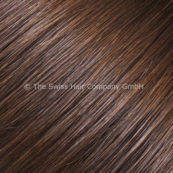 Asiatische Schnitthaar Tape Extensions - glatte Struktur - 55/60cm - Farbe 3