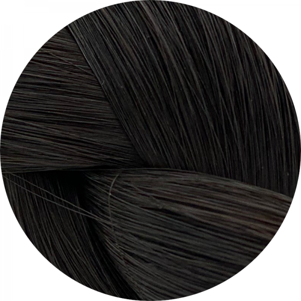 Asiatische Rohhaar Keratin Extensions - glatte Struktur - 70/75cm
