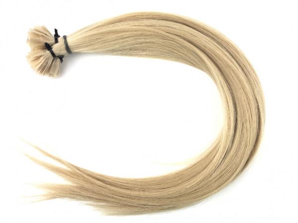 Sibirische Keratin Extensions - glatt - Farbe 22 - helles blond