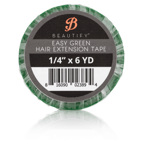 Hair Extensions Tape - Easy Green - 6.5mm