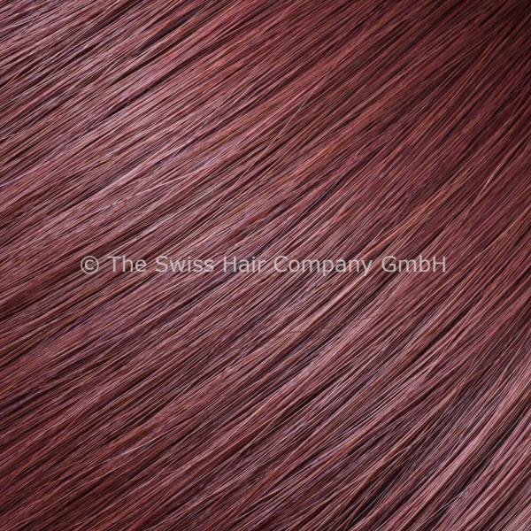 Asiatische Schnitthaar Tape Extensions - glatte Struktur - 55/60cm - Farbe 756