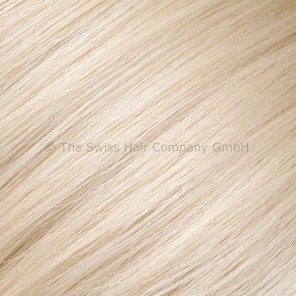 Asiatische Schnitthaar Extensions - glatte Struktur - 55/60cm - Farbe Grey
