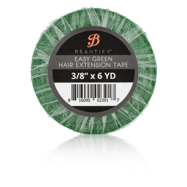 Hair Extensions Tape - Easy Green - 9.5mm