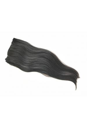 Vietnamesische Rohhaar Tresse - 45/50cm - glatt - 100 Gramm