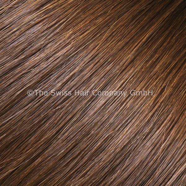 Asiatische Schnitthaar Extensions - glatte Struktur - 55/60cm - Farbe 4