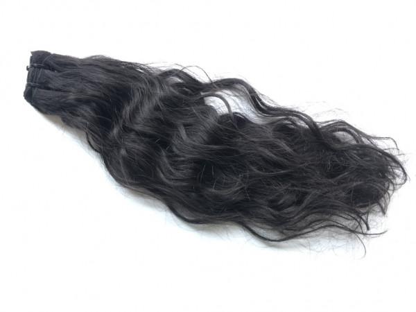 Sibirische Rohhaar Tresse - 50cm - gewellt