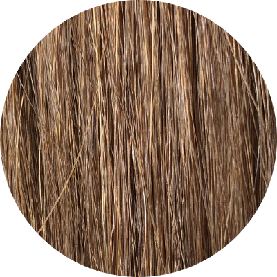 Asiatische Schnitthaar Extensions - glatte Struktur - Farbe 5