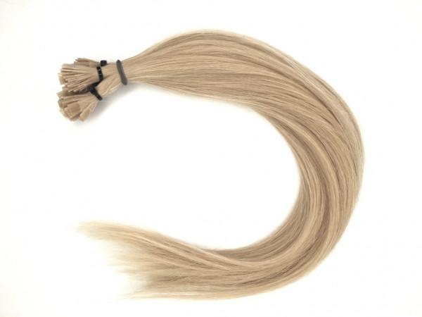 Asiatische Schnitthaar Extensions - glatt - Farbe 18b