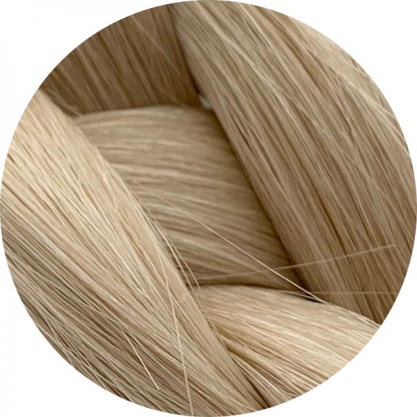 Asiatische Schnitthaar Tresse - glatte Struktur - 55cm - Farbe 60b