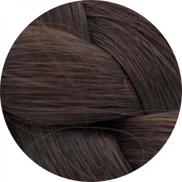 Asiatische Schnitthaar Tresse - glatte Struktur - 55cm - Farbe 2
