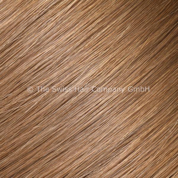 Asiatische Schnitthaar Extensions - glatte Struktur - 55/60cm - Farbe 6