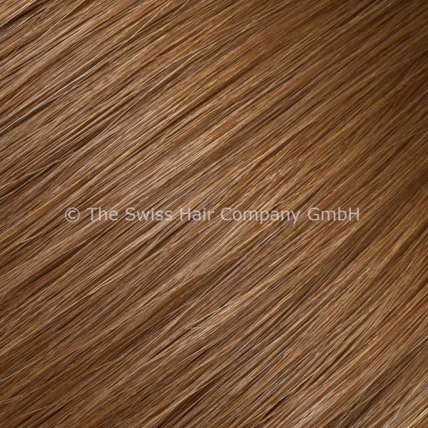 Asiatische Schnitthaar Extensions - glatte Struktur - 55/60cm - Farbe 7