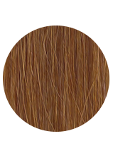 Sibirische Keratin Extensions - glatt - Farbe 33 - kastanienbraun