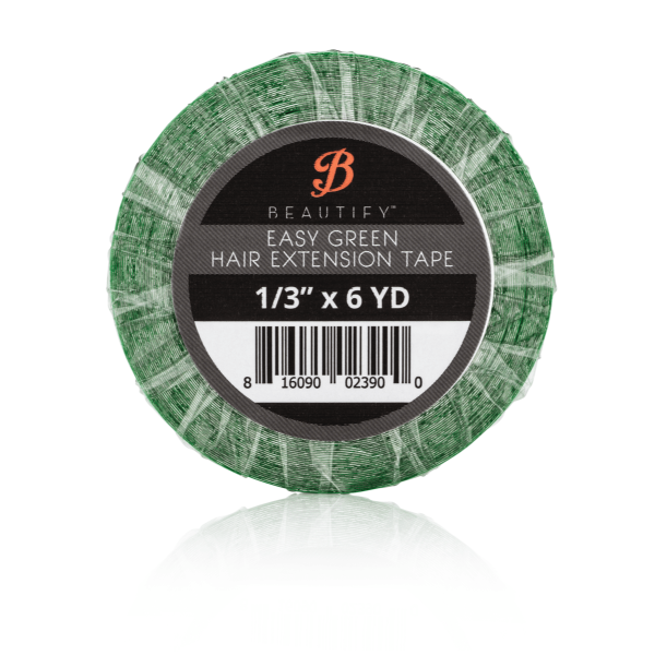 Beautify - Easy Green Hair Extension Tape Roll - 8.5mm