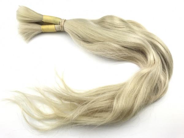 Indisches Yellow Pale Haar - 52cm - leicht gewellt - 99 Gramm