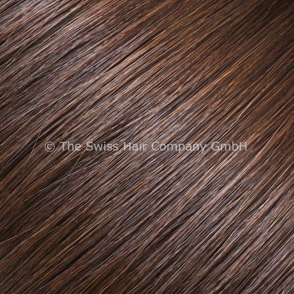 Asiatische Schnitthaar Extensions - glatte Struktur - 55/60cm - Farbe 3b