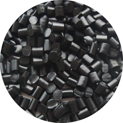 Keratin Granulat - schwarz