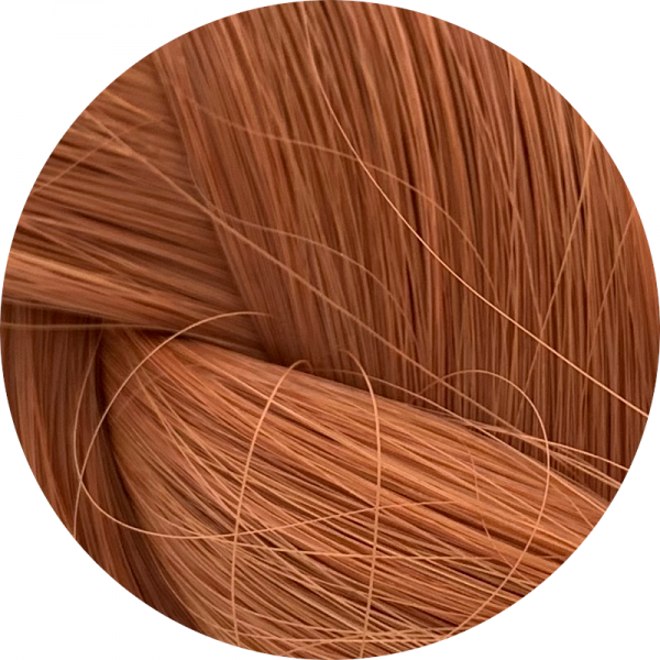 Asiatische Schnitthaar Tape Extensions - glatte Struktur - 55/60cm - Farbe 1265