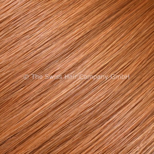 Asiatische Schnitthaar Extensions - glatte Struktur - 55/60cm - Farbe 1265
