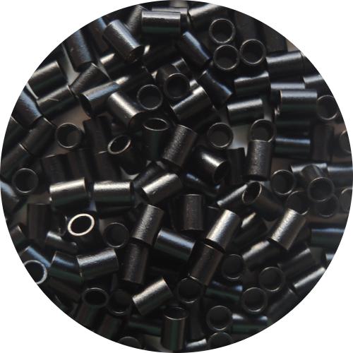 Microringe aus Kupfer - Schwarz