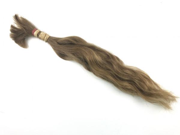Europäisches Rohhaar - 43cm - naturgewellt - 40 Gramm