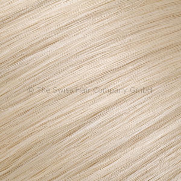 Asiatische Schnitthaar Tape Extensions - glatte Struktur - 55/60cm - Farbe 1001