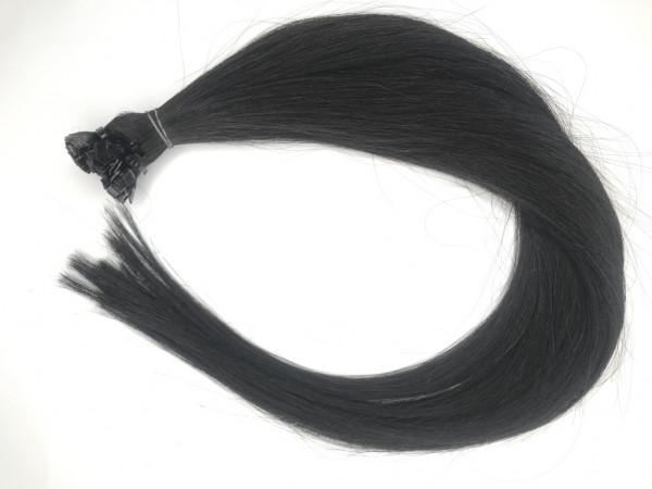 Asiatische Rohhaar Keratin Extensions - 60cm - glatt