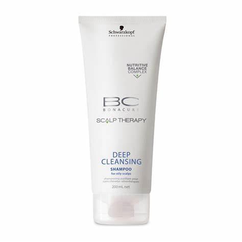 BC Bonacure Deep Cleansing Shampoo - 200ml