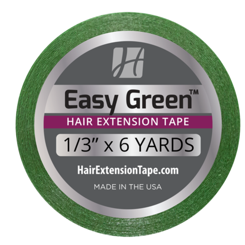 Hair Extensions Tape - Easy Green - 8.5mm