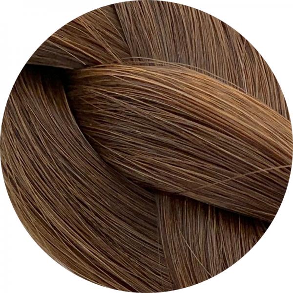 Asiatische Schnitthaar Tape Extensions - glatte Struktur - 55/60cm - Farbe 4